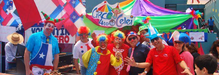 Colegio Hispano Británico celebro Fiestas Patrias